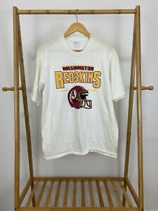 VTG-90s-Washington-Redskins-NFL-Short-Sleeve-Single-Stitch-T-Shirt-Size-M