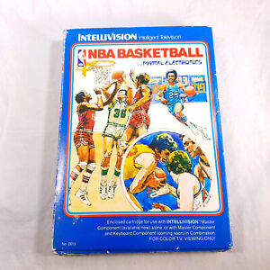 Complete-in-Box-Intellivision-NBA-Basketball-in-protective-sleeve