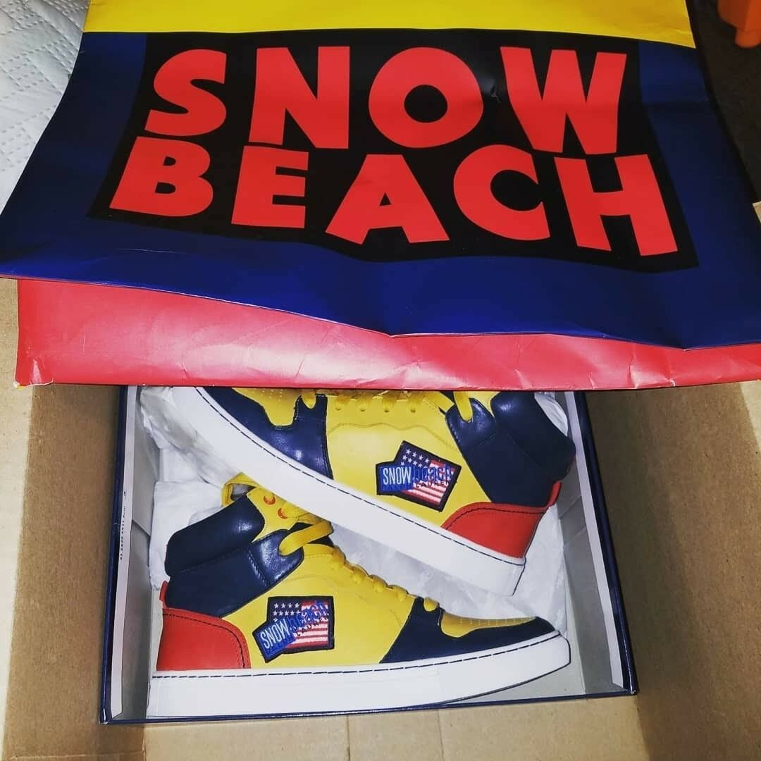 Polo Ralph Lauren Snow Beach Sneakers Size 9.5