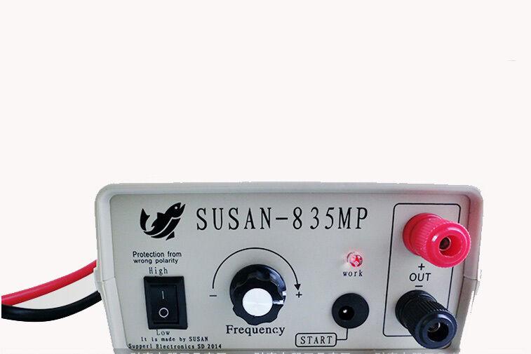 Susan inversor ultrasónica 835MP, 20A 12V Fisher, dispositivo de pesca, peces paralizadora