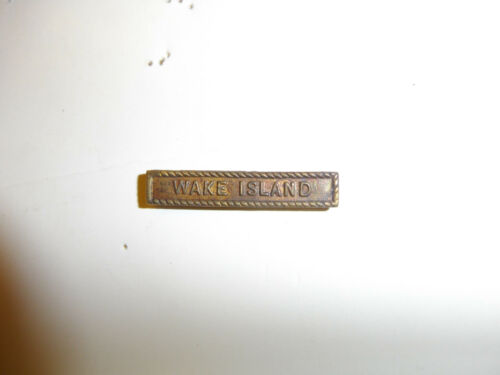 2018 WW2 US Navy USMC Wake Island Bar Marine Expeditionary Medal R14D51