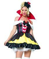 Queen Of Hearts Costume, Leg Avenue Alice In Wonderland 8-14, Fairytale, Sexy