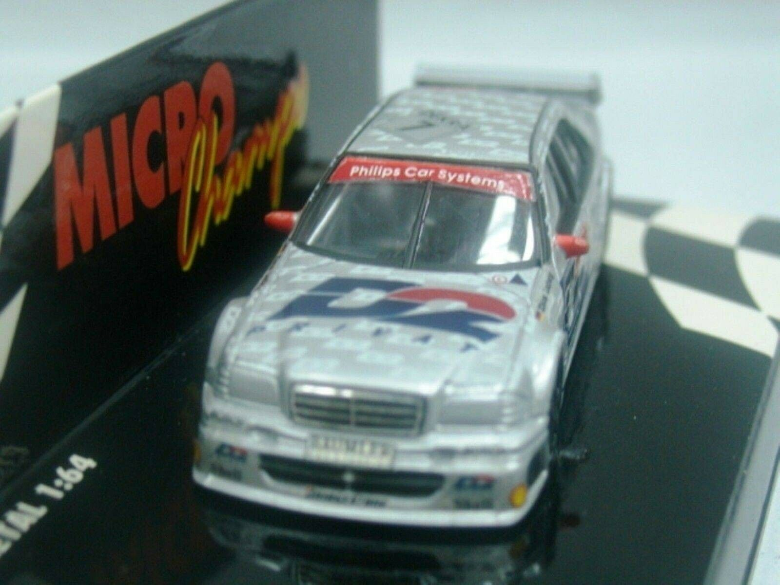 WOW EXTREMELY RARE Mercedes DTM 1994 C250 AMG Ludwig Champion 1 64 Minichamps