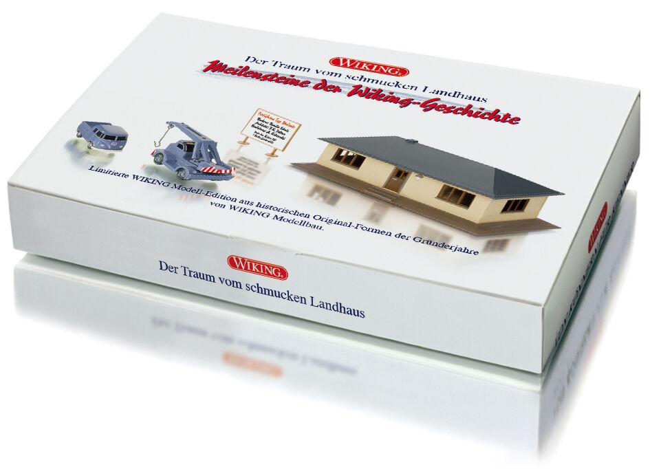 Wire 099085, Set Casa Prefabbricata, H0 Kit modellololo Finito 1 87