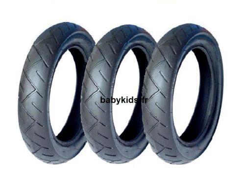 3 pneus poussette everest bébé confort