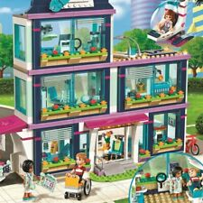 Heartlake City Hospital Building Blocks Toys Girls Friends Bricks INGLYS 932 Pcs