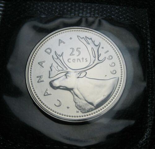 2002-p Uncirculated RCM Caribou 25-cents SPECIMEN