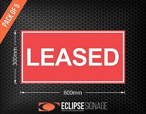 LEASED-Self-Adhesive-Stickers-Pack-of-5