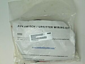 DODGE-RAM-PICKUP-AUX-SWITCH-UPFITTER-WIRING-KIT-P68209998AC-OEM-a0304