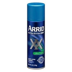 ARRID-XX-Ultra-Clear-Anti-Perspirant-Deodorant-Spray-Ultra-Fresh-6-oz-4-pack