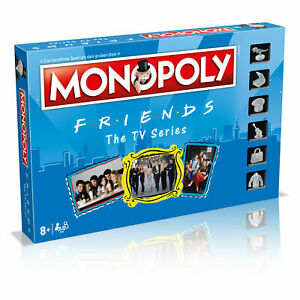 Monopoly-Friends-Series-Edition-Board-Game-Party-Game-Game-German-New