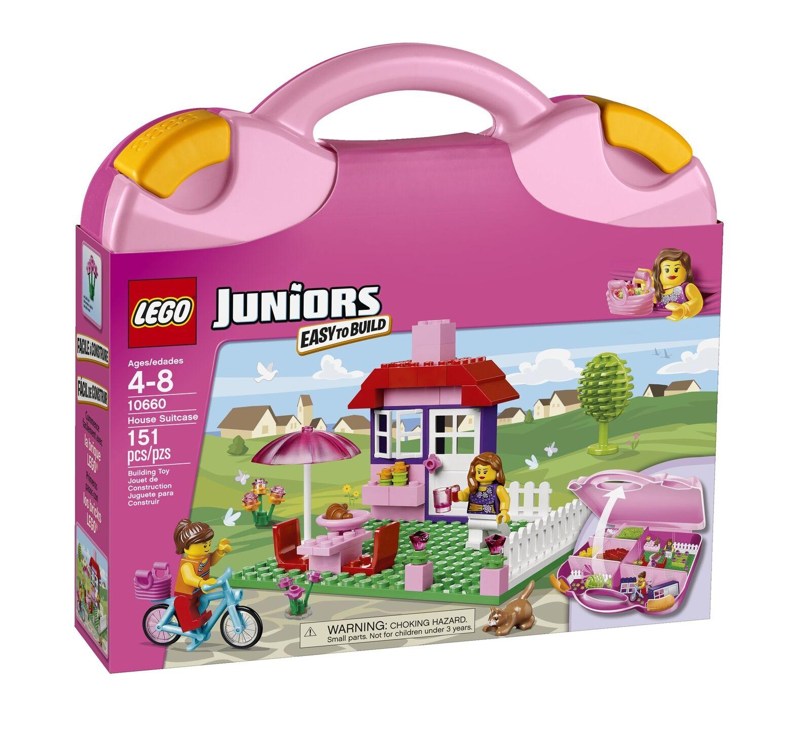 Lego Juniors Maleta de casa de 10660