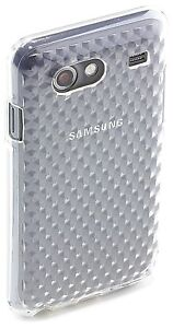 Samsung-Licensed-Diamond-Pattern-TPU-Clip-On-Case-Cover-for-Galaxy-Advance-by