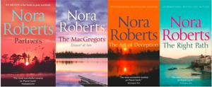 Nora-Roberts-Article-Solde-4-Livre-Ensemble-Tout-Neuf-Livraison-Gratuite