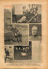 Bulgaria Soldier /Clairon de Sidi-Brahim/Mgr de Cabrières  1913 ILLUSTRATION