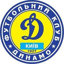 Ukraine Ukrainian Car Bumper Decal Sticker Dynamo Kyiv Football Soccer