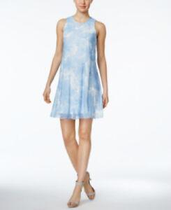 4bfbde2d369 Image is loading CALVIN-KLEIN-Women-039-s-Blue-amp-White-