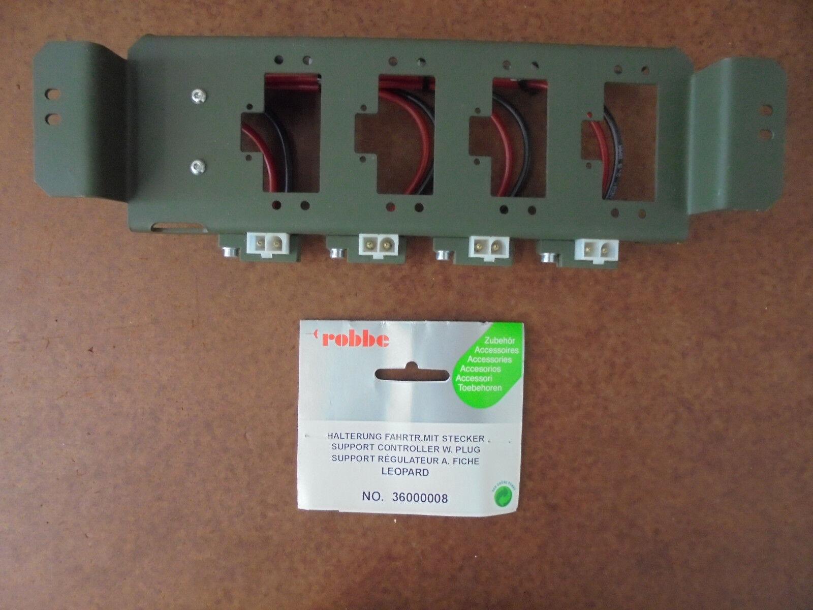 ROBBE PROD - 36000008 STAFFA regolatore di viaggio con spina  Leopard
