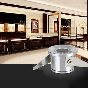 1x1W LED cabinet Mini spot lamp Light downlight 85-265v ceiling lighting XBUK RT