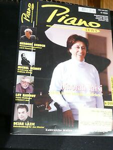 Piano news- Magazin für Klavier und Flügel.Ausgabe 2005, Heft 1 bis 6 - <span itemprop='availableAtOrFrom'>Faulbach, Deutschland</span> - Piano news- Magazin für Klavier und Flügel.Ausgabe 2005, Heft 1 bis 6 - Faulbach, Deutschland