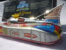 Vintage 1980 Original Space Ship Jet Car Tank Robot Rocket Metal Tin Toy China