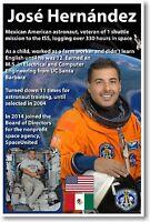 Nasa Astronaut José Hernández Mexican American Space Shuttle Veteran Poster