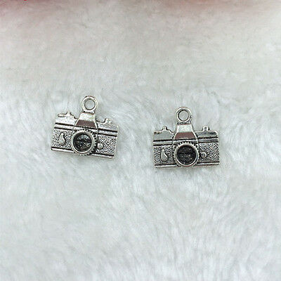 Jewelry Findings,Charms,Pendants,Antique Silver Alloy 10PCS Camera@4