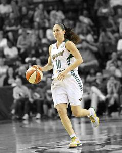 WNBA-Seattle-Storm-SUE-BIRD-Glossy-8x10-Photo-Spotlight-Poster-Basketball-Print