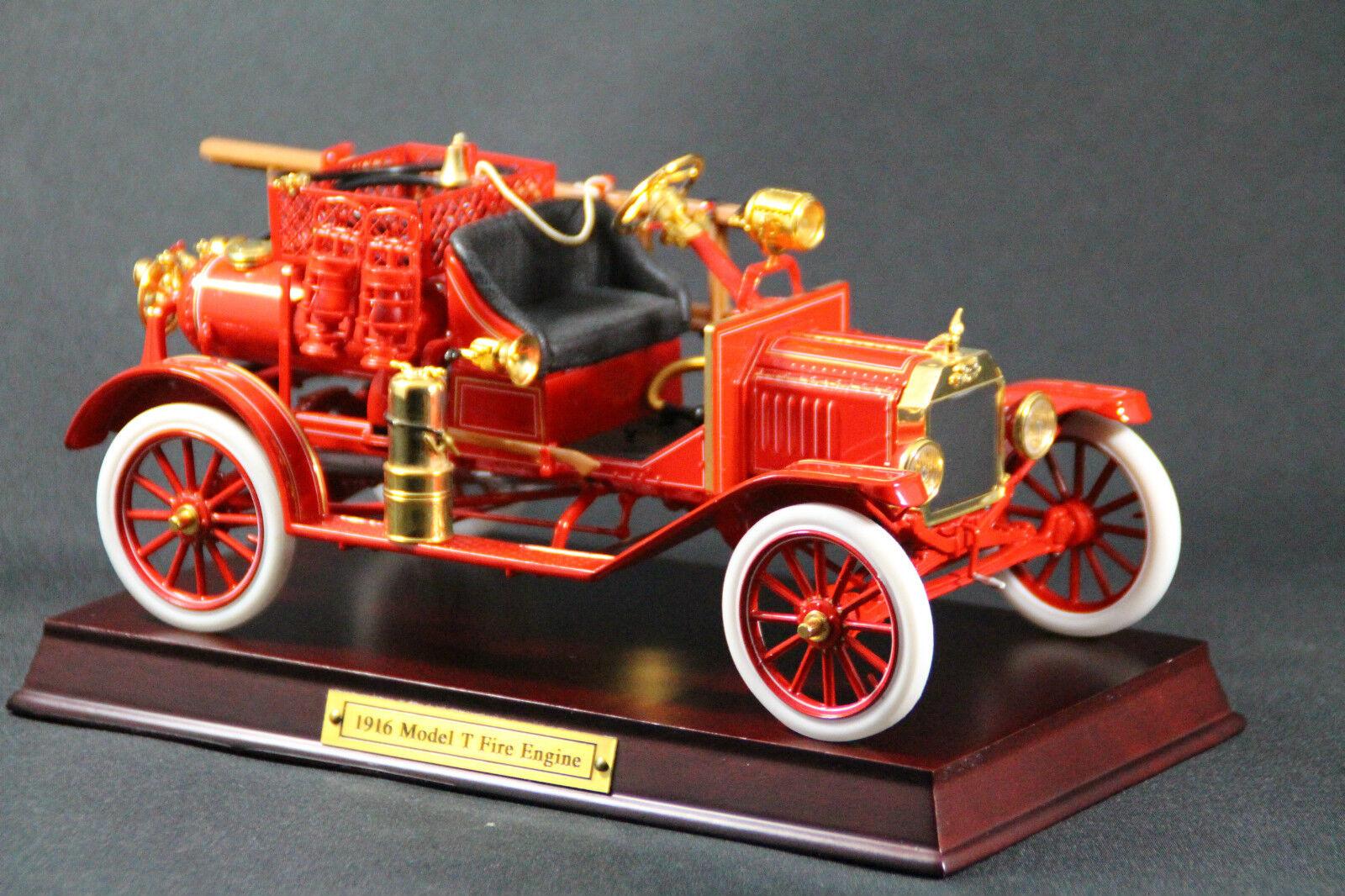Franklin Mint Precision Die-Cast Models Der 1913 Ford Model T Feuerwehrmobil rar  | Won hoch geschätzt und weithin vertraut im in- und Ausland vertraut