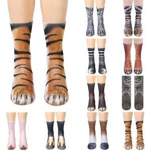 Mode Männer Frauen Casual Low-Cut Ankle Socken Baumwolle 3D gedruckte Tiere