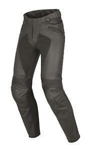 Moto-Pantalon-cuir-Dainese-Pony-Pelle-c2-Estivo-Noir-Taille-42-FRA-36
