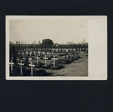 France 80 NOYELLES Soldaten Friedhof / Cimetière Militaire * Carte Photo 1917