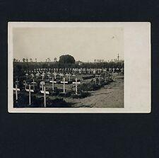 France 80 NOYELLES Soldaten Friedhof / Cimetière Militaire * Carte Photo 1917