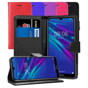 Pour-Huawei-Y6-Y6s-Pro-2019-Honor-8-A-Pro-Etui-portefeuille-en-cuir-Flip-Case-Cover