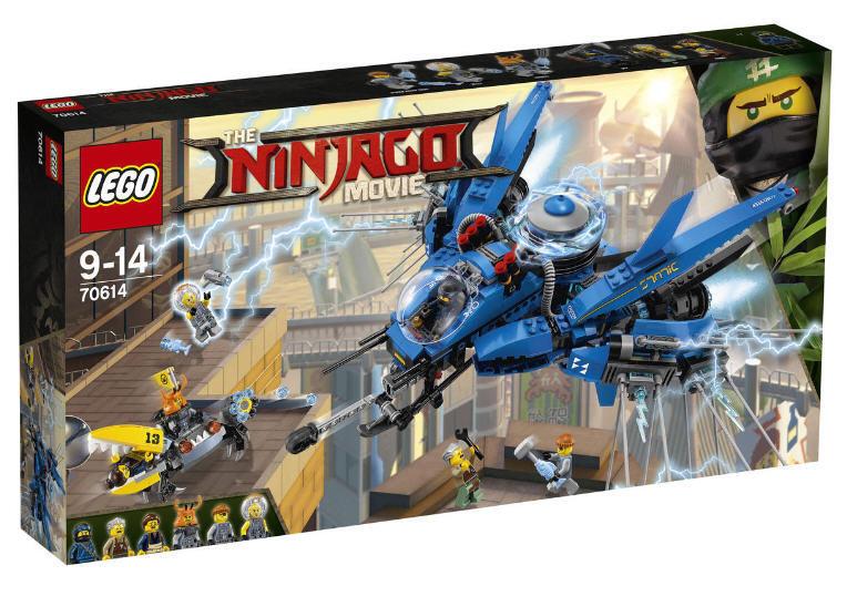 LEGO  ® the Ninjago Movie 70614 Jay's Jet-Flash Nuovo & Ovp Jay ed Edna Crusty Jelly  tempo libero