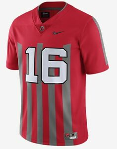 wholesale dealer 0dda9 9c72c Details about NIKE OHIO STATE BUCKEYES OSU LIMITED THROWBACK JERSEY XL JT  BARRETT