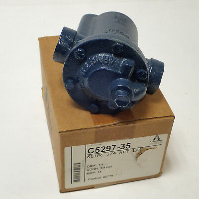 "NOS ARMSTRONG C5318-4 3//4/"" NPT CAST IRON STEAM TRAP"