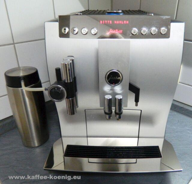 Kaffeevollautomat Jura Impressa Z7 Alu Voise One Touch.