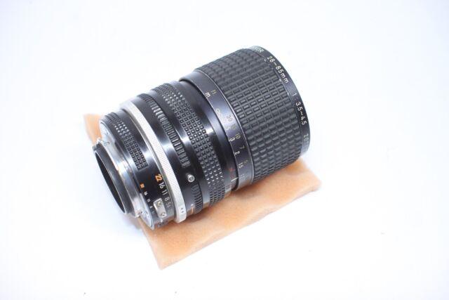 Nikon Zoom Nikkor 28-85mm f/3.5-4.5 AI-S MF Objektiv