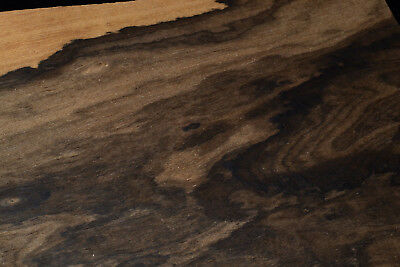 Ziricote Raw Wood Veneer Sheets 6.5 x 46 inches 1//42nd                  G7633-41