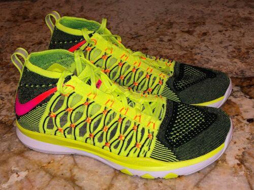 Volt Train hombre para Zapatillas de de 5 Pink Zapatillas Sz Nike Black entrenamiento deporte 9 Ultrafast Flyknit fRtqYSn