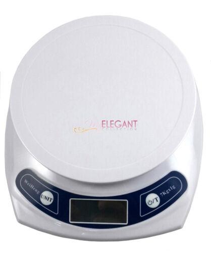 1g-7000g Electronic Kitchen Digital Floor Scale Diet Food Postal Weight Gram Oz