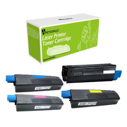 New Compatible 42127401-42127404 Toner For Okidata C5100 C5100n