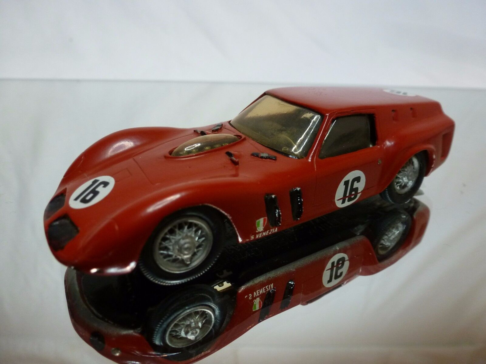 GRAND PRIX MODELS KIT built  FERRARI 250 GT BREADVAN - 1:43 RARE - SSS VENEZIA