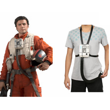 X-Wing Poe Dameron Pilot Chest Box Movie Star Wars Cosplay Costume Props Adult