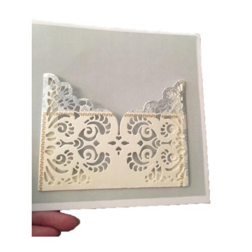 Forma de encaje Metal Corte muere Stencils Scrapbooking Cardmaking artesanías de grabación en relieve
