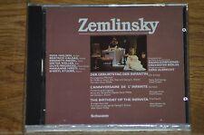 "GERD ALBRECHT ZEMLINSKY ""The birthday of the infanta"" CD SCHWANN GERMANY  SEALED"