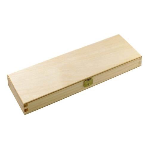 Holzschatulle für Taschenmesser mit Schaumstoffeinlage