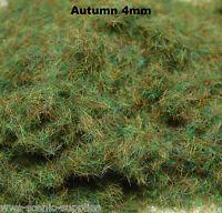 WWS 4mm Autumn Flock Static Grass Hornby Peco Railway Scenery