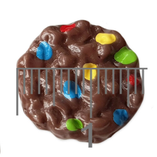 5pcs Chocolate Chip Cookie Resin Flatback Cabochons Embellishment Decoden Craft